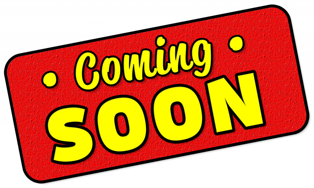 """""""Coming Soon"""" sign"""