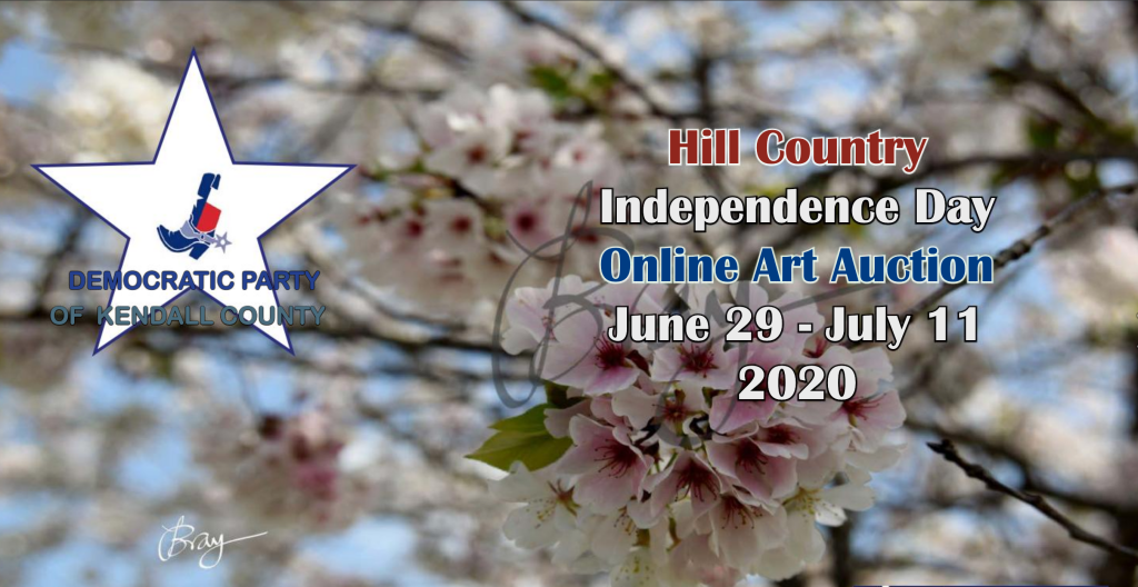 Hill Country Independence Day Online Art Auction June 29 - July 11, 2020
