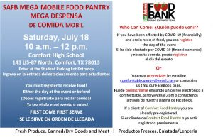 SAFB Mega Mobile Food Panty