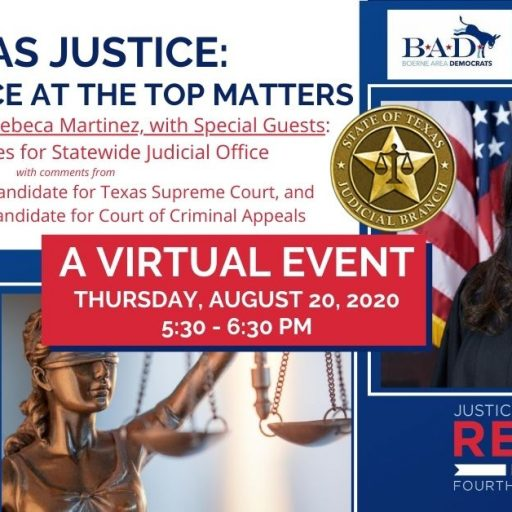 Notes from the Chair: Texas Justice – Why the Voice at the Top Matters