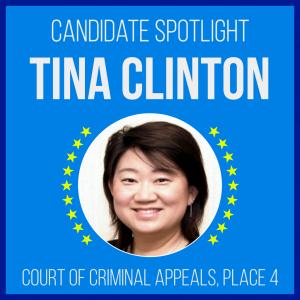 Candidate Spotlight: Tina Clinton