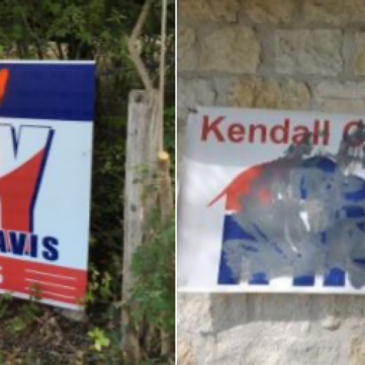 Kendall County Democratic Party Condemns Sign Vandalism