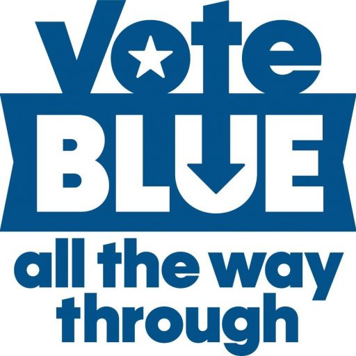 Notes from the Chair: Vote Blue All the Way Through