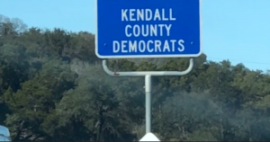 Kendall County Democratic Party Adopt-A-Highway Trash Pick-Up