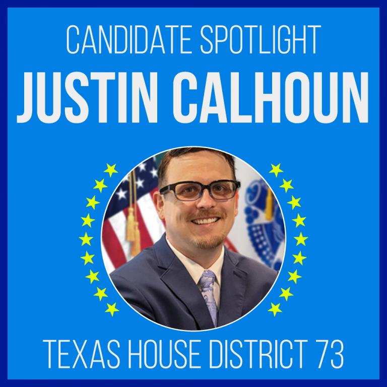 Candidate Spotlight: Justin Calhoun