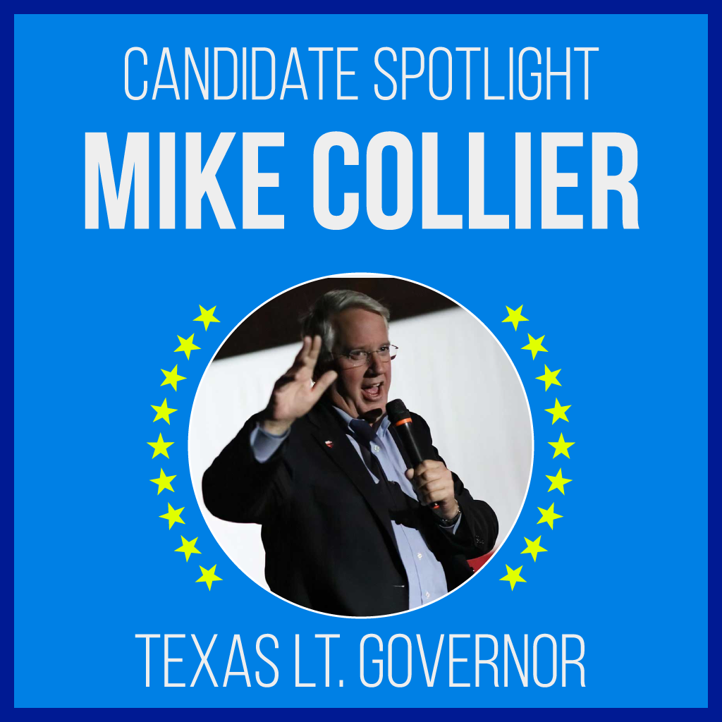 Mike Collier is a candidate for Texas Lt. Governor