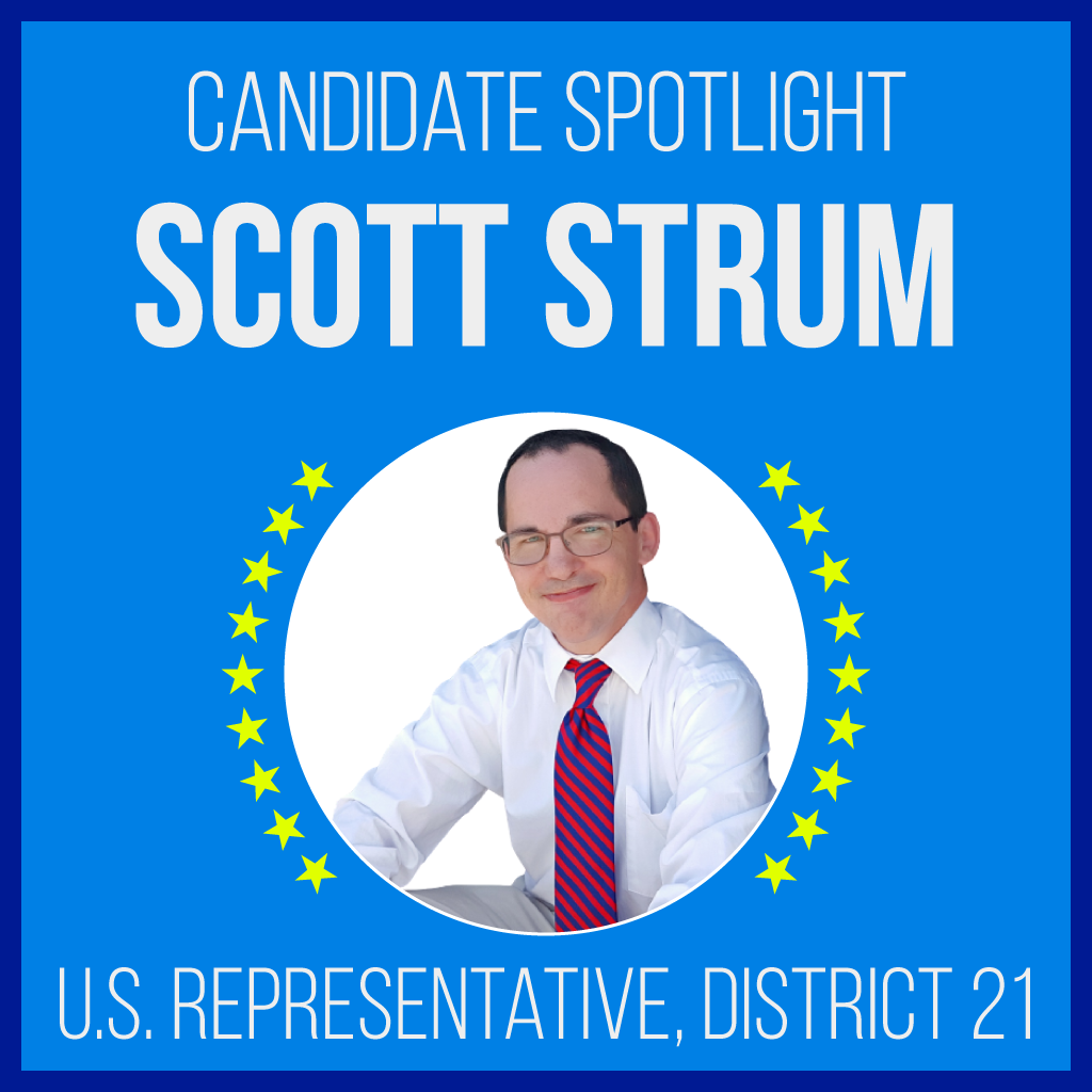 Scott Strum is a candidate for Running for: U.S. Representative for Texas's 21st congressional district